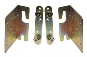 Sets 2-4 Metal Bed/Bunk. LARGE Wood frame bracket corner fitting kit. 2mm steel HEAVY DUTY.  NO SC